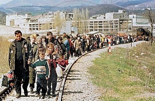 "11 April 1997, the newspaper ""Rilindja"" of Kosovo reflects the terrific balance of the victims for the major cities of Albania"