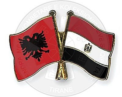 19 April 1956, were reestablished the diplomatic relations between Albania and Egypt