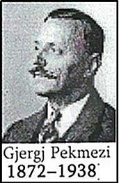 23 April 1872 was born the linguist, translator and diplomat Gjergj Pekmezi