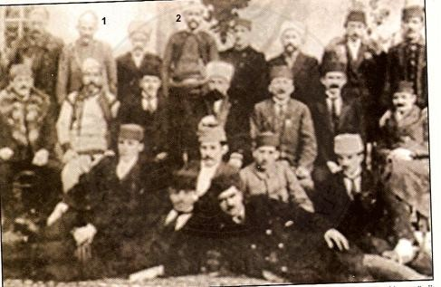 "25 Prill 1921 u themelua ""Federata Atdheu"""