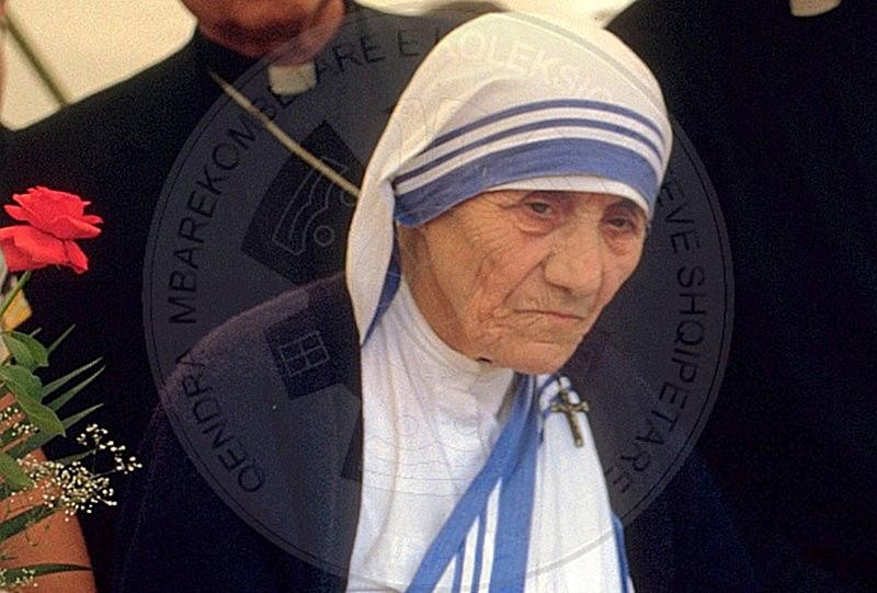 25 April 1997 Mother Theresa sends a message to Albanians