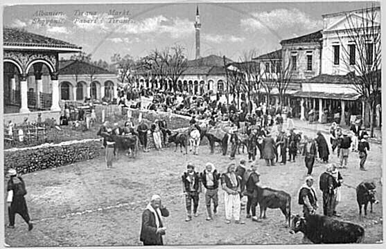 22 April 1920, protest of Tirana residents to the Peace Conference in San Remo