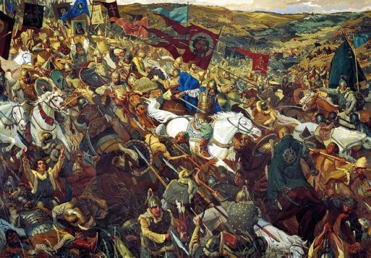 13 April 1453, a fierce struggle of the Albanians in the area of Pollog near Tetovo