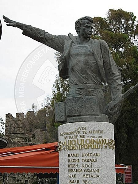 7 April 1939, Mujo Ulqinaku fell heroically in the armed resistance against the Italians