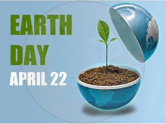"22 April ""The International Earth Day"""