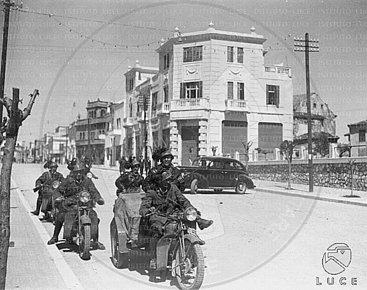 8 April 1939, the Italian occupation troops entered in Tirana