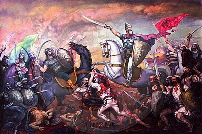 21 April 1407, began the first Ottoman invasions attacks against the castle of Kruja
