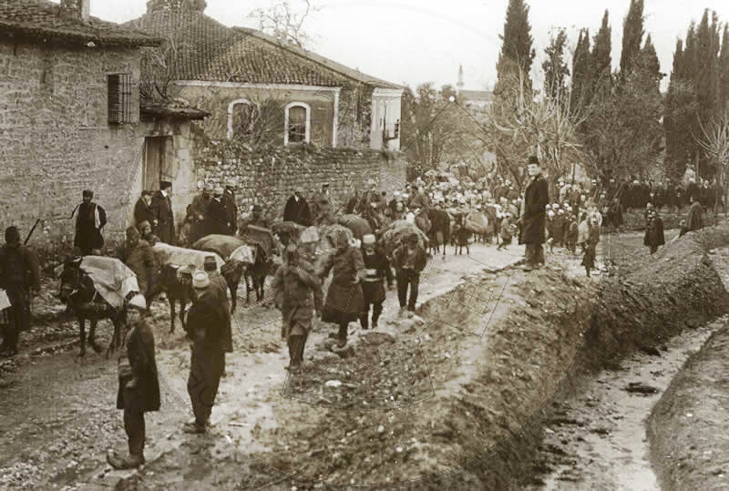 12 June 1920, protest of Italian soldiers to end the War of Vlora