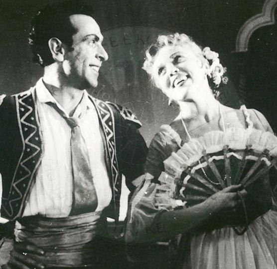 "12 June 1960, premiere of opera ""Spring"""