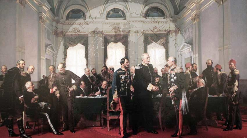 13 June 1878, began the Congress of Berlin