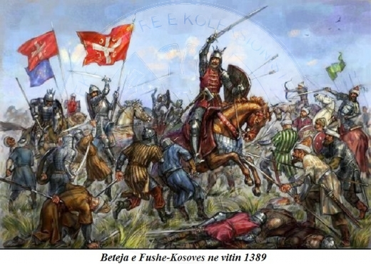 June 15, 1389, took place the battle between Ottoman forces and anti-Ottoman coalition led by Serbian prince Lazar