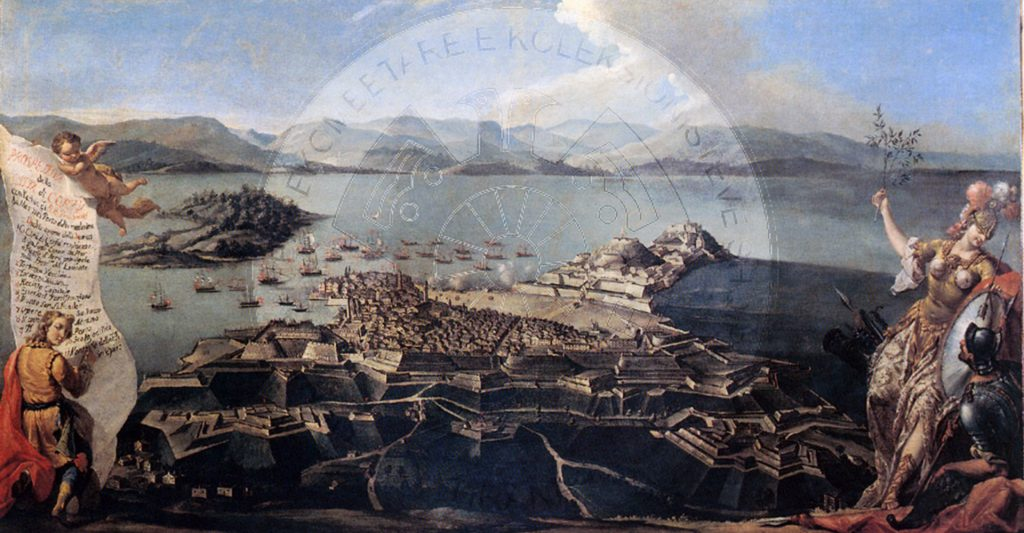 27 June 1797, the French disembarked in Corfu