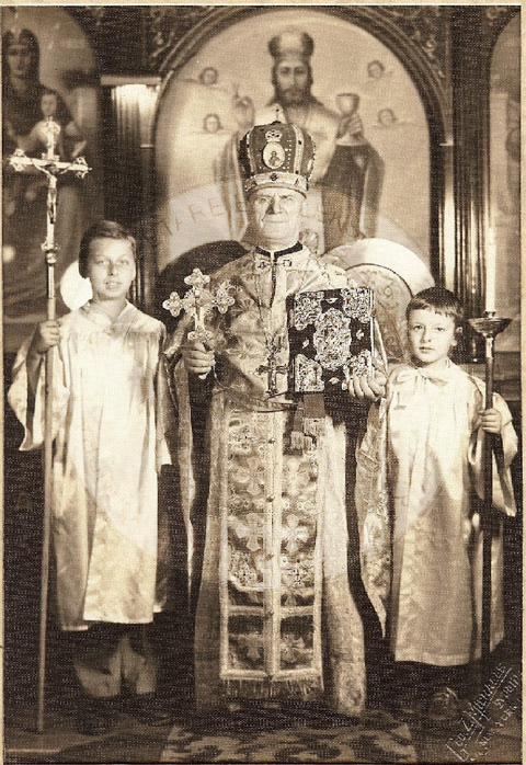 19 June 1943, was born Father Artur Liolini Cleric of the Albanian Orthodox Church in Boston