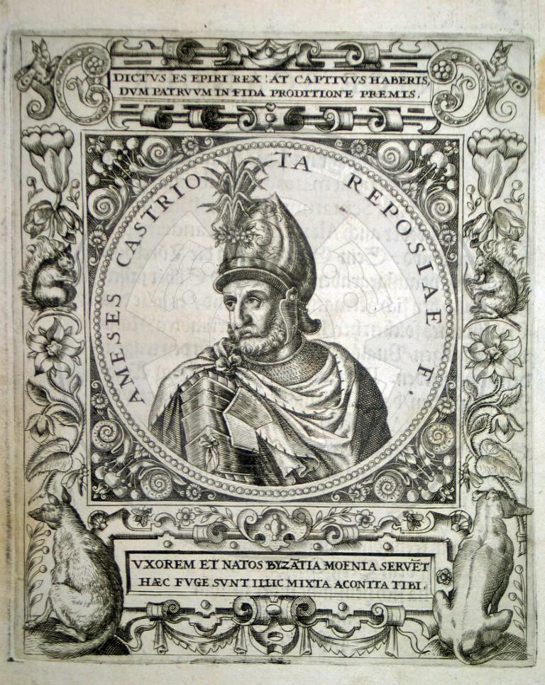 8 June 1455, betrayal of Hamza Kastrioti helped Isa Bey Evrenoz to beat Skanderbeg in the battle of Berat