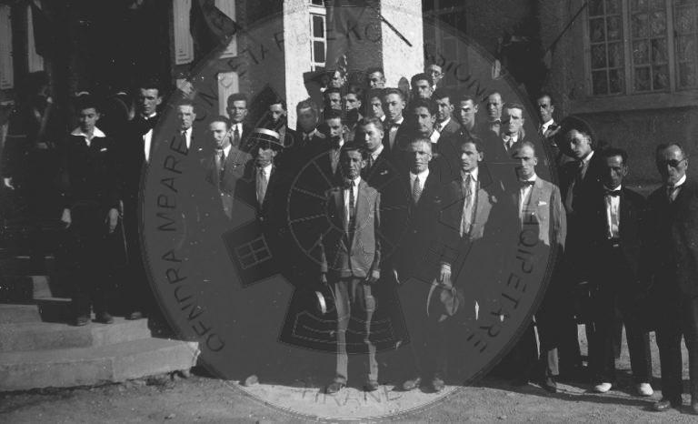 8 Qershor 1937, kori i Liceut të Korçës mbajti koncert me pjesë shqiptare e të huaja