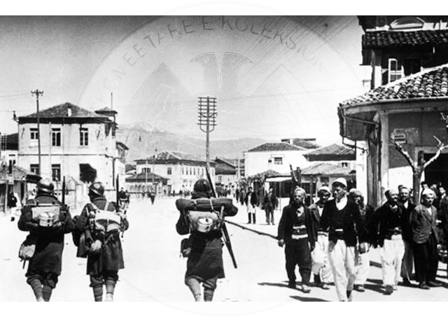 13 June 1943, Italian fascists, began the second military operation in Peza