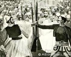 13 Qershor 1878, lidhja shqiptare e Gegërisë i drejtoi një protestë Kongresit të Berlinit
