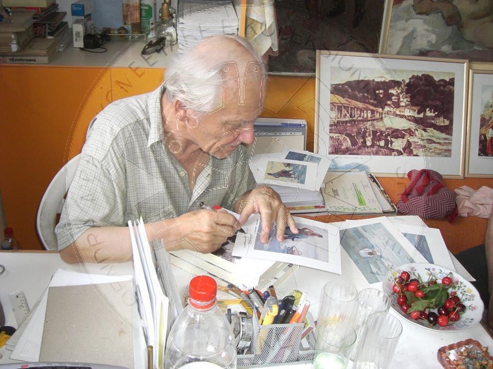 Agim Faja, piktori emblemë i një qyteti të vogël