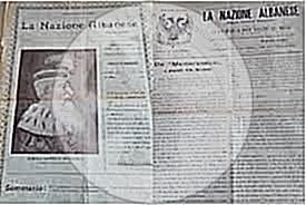 """30 Qershor 1899, u botua në gazetën """"La Nacione Albanese"""" memorandumi që iu dërgua Sulltanit nga mërgimtarët tanë në Bukuresht"""