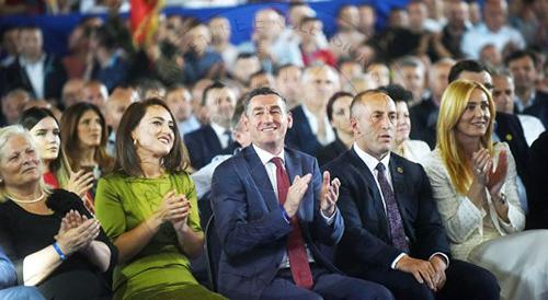 PDK shpall fitoren, deklaron Ramush Haradinajn kryeministër të vendit