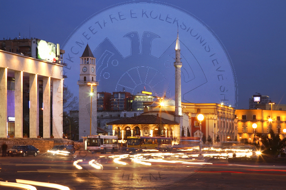 24 June 1937, started the work on lighting with electric light of Tirana's central square