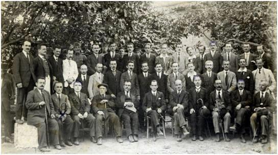 22 July 1922, began work in Tirana, Educational Congress