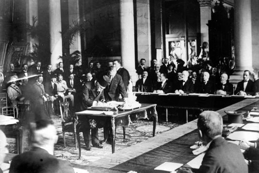 28 July 1917, is held the Conference of the Entente countries