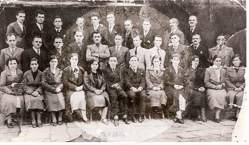 "25 July 1921, with the initiative of Avni Rustemi, in Gjirokastra was formed the ""League of teachers"""