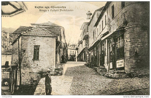 "7 July 1924, in Gjirokastra, the Club of the Society ""Student"""