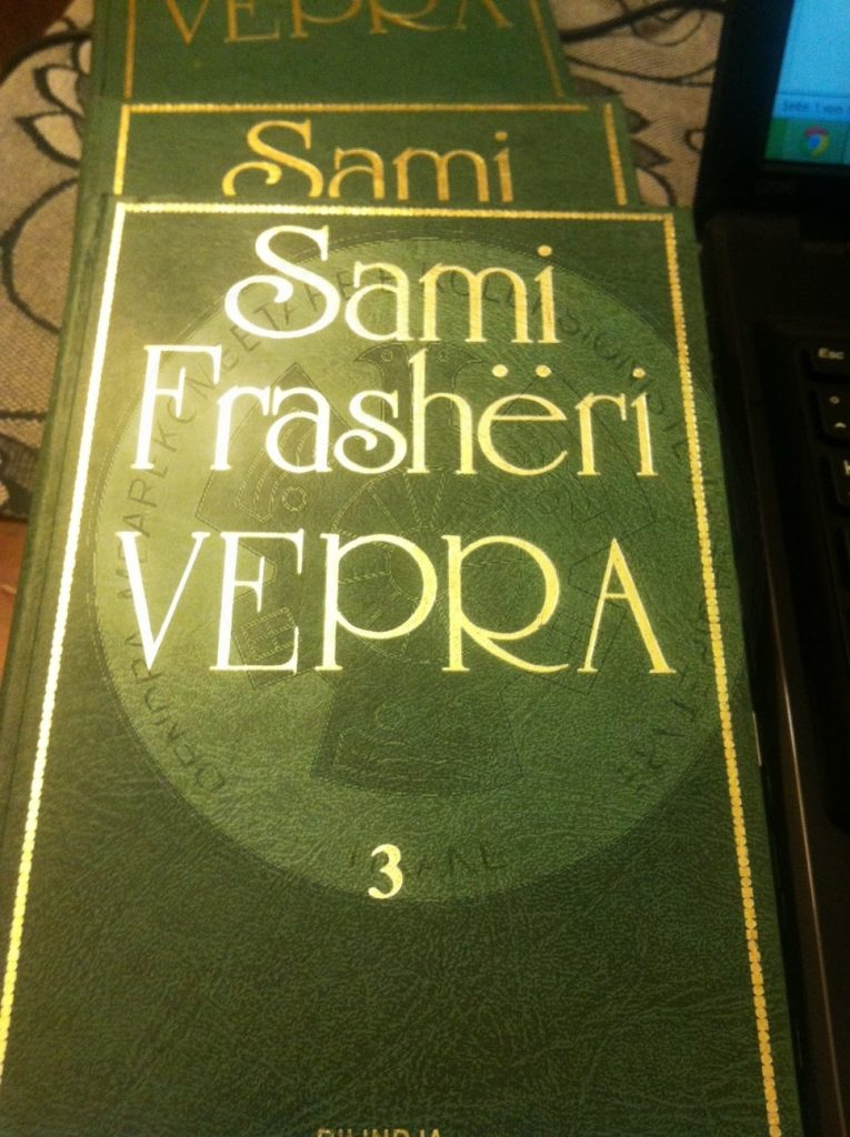 "3 August 1886, was published the Albanian grammar of Sami Frasheri ""Literary of the Albanian language"""