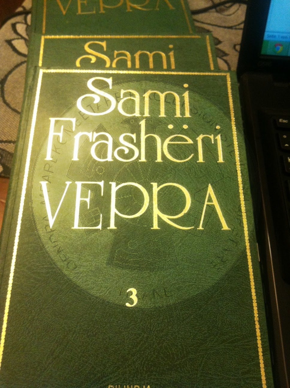 """3 August 1886, was published the Albanian grammar of Sami Frasheri """"Literary of the Albanian language"""""""