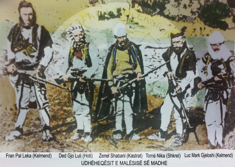 28 July 1880, Hodo Sokoli successfully leads the protection of Hoti and Gruda