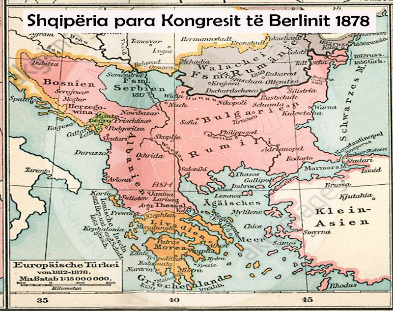24 July 1878, League of Janina, addressed the Great Powers, a protest against the decisions of the Berlin Congress