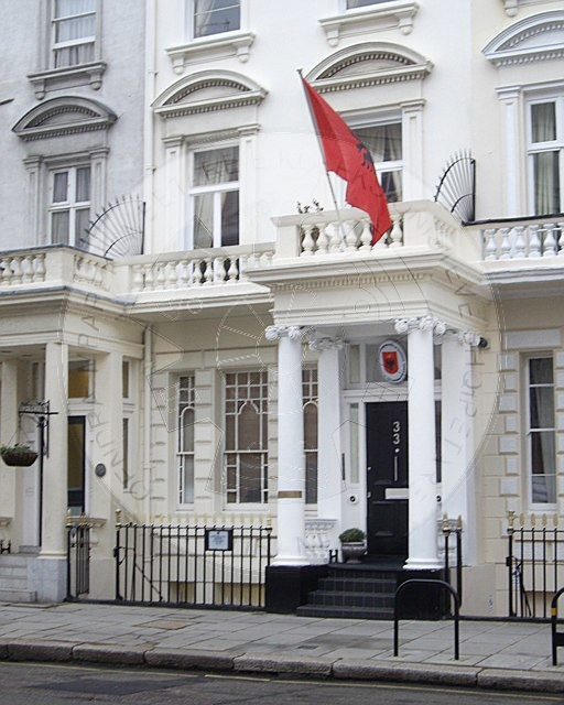 1 August 1925, the Republic of Albania established  its Honorary Consulate in Copenhagen