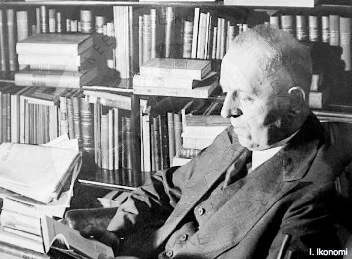 Foto e panjohur: Faik Konica dhe këshilla për librat e mirë