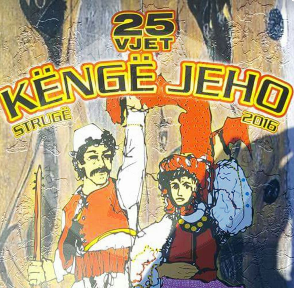 "6 August 1997, began ""Këngë jeho"" festival in Struga, which aims to keep the Albanian songs alive"