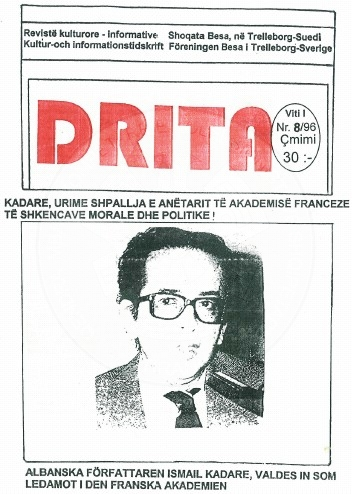 "10 August 1884, was published the first number of ""Drita"" magazine"