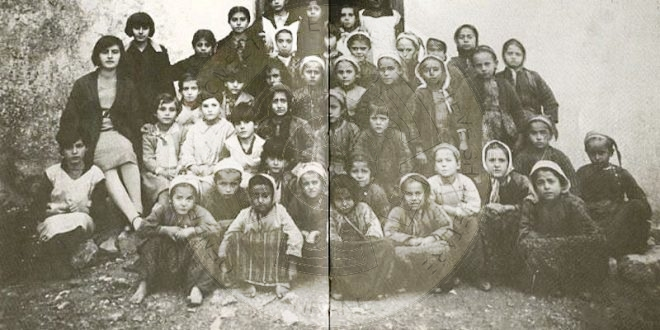 25 August 1909, was opened the first Albanian school in the Filat of Cameria