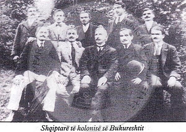 "15 August 1902, the committee of patriotic society ""Shpresa"" organized a manifestation of Albanian emigrants in Bucharest"