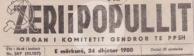 "25 August 1942, was published ""Zeri i popullit"" newspaper"