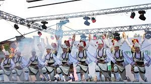 "22 August 2000, concluded the International Folklore Festival, ""Gramshi 2000"""