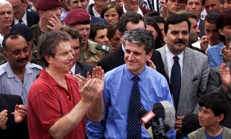 13 August 1999, former Prime Minister of the Republic of Albania, Pandeli Majko, visited Kosovo