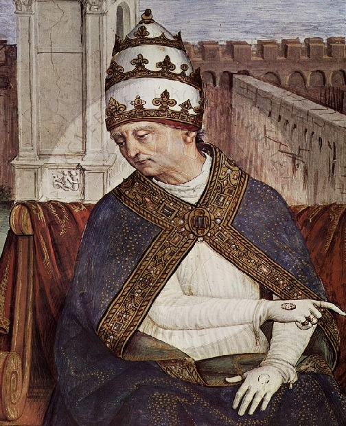 14 August 1464, died Pope Pius II