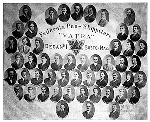 "14 August 1912, in Boston, was held the First Assembly of the Pan-Albanian Federation ""Vatra"""