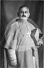 "4 September 1885, was born the cleric and publicist Vincent Prendushi, ""Martyr of Democracy"""