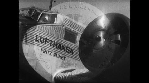 "22nd  September 1937, ""Lufthansa"" settled the airline of Tirana-Berlin"