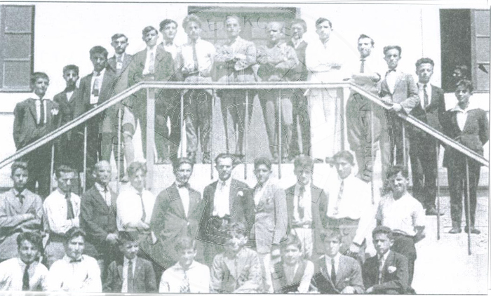 "25th September 1921, was founded ""The League of Teachers"" in the Albanian-American Technical school"