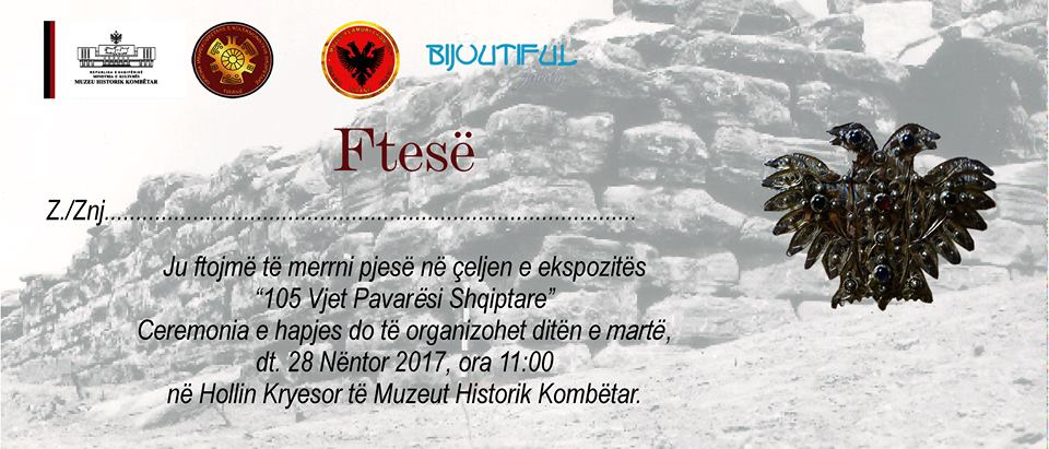 QMKSH and MHK open on November 28th the full exhibition about the albanian flag.