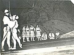 "11 May 1952, on the stage of the National Theater in Tirana, gave the premiere of the drama ""Marriage with dowry"""