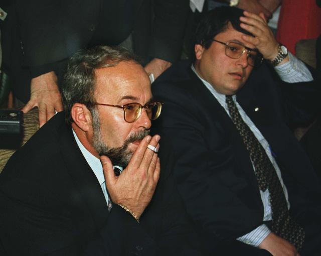 31 Korrik 1997, mbledhje ne Rome per rimekembjen e Shqiperise.